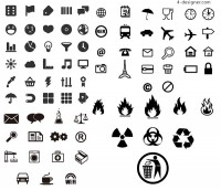 Practical identifies small icon vector material