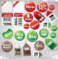 Price of a license tag vector material