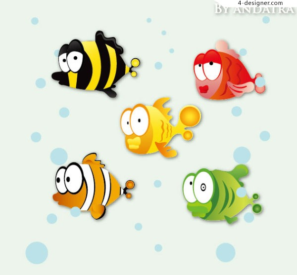 Lovely tropical fish