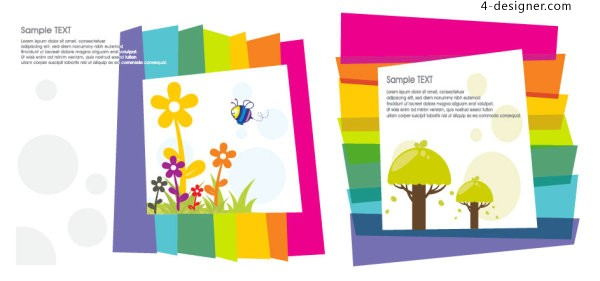 Lovely color vector