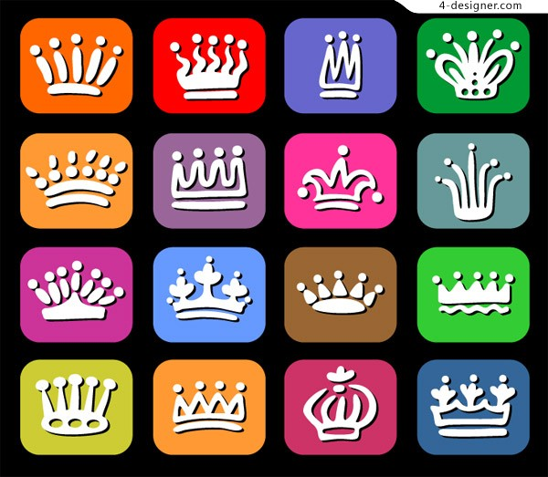 Lovely crown vector