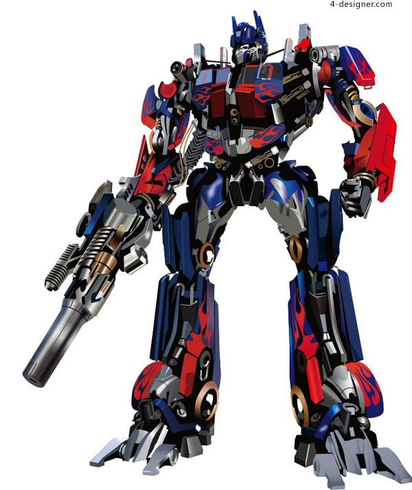 Optimus Prime Transformers vector material