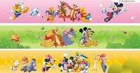 Disney land vector material