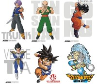 Dragon Ball characters vector material