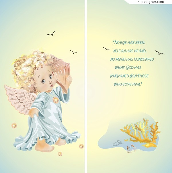 Korea Noble Angel vector material