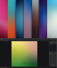 72 paragraph dazzling color gradient background designer artifact