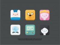 A group of cute icons AI source file