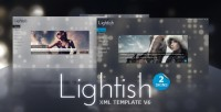 FLASH stylish atmosphere the whole station Lightish XML Template V6