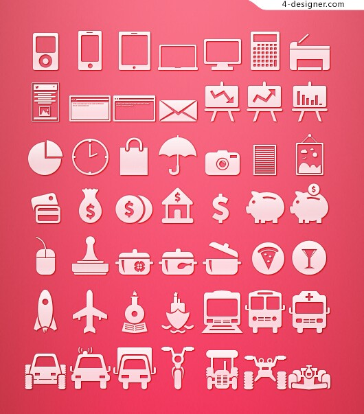 Finance and Transport icon icon