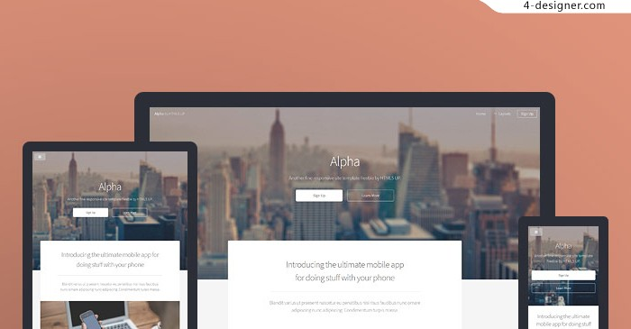 Foreign lightweight responsive H5 Page Share alpha