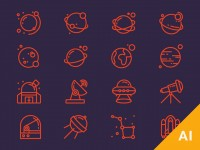 Free Space Icons