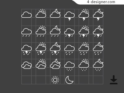 Free Weather Icons Ai