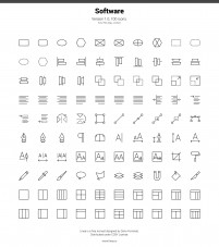 ICONS vector icons SVG had been cut 6