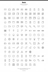 ICONS vector icons SVG had been cut Figure