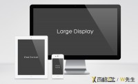 IPhone iPad Mac black and white RESPONSIVE SCREEN MOCKUP PACK