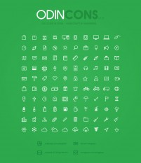 Ultra wide 100 ICONS quality vector icons