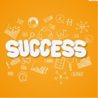 Business Success clip WordArt