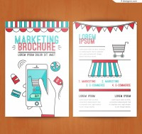 Creative marketing brochure