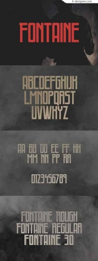 Fontaine_Typeface