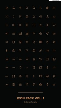 Icons small icon material PSD source file download