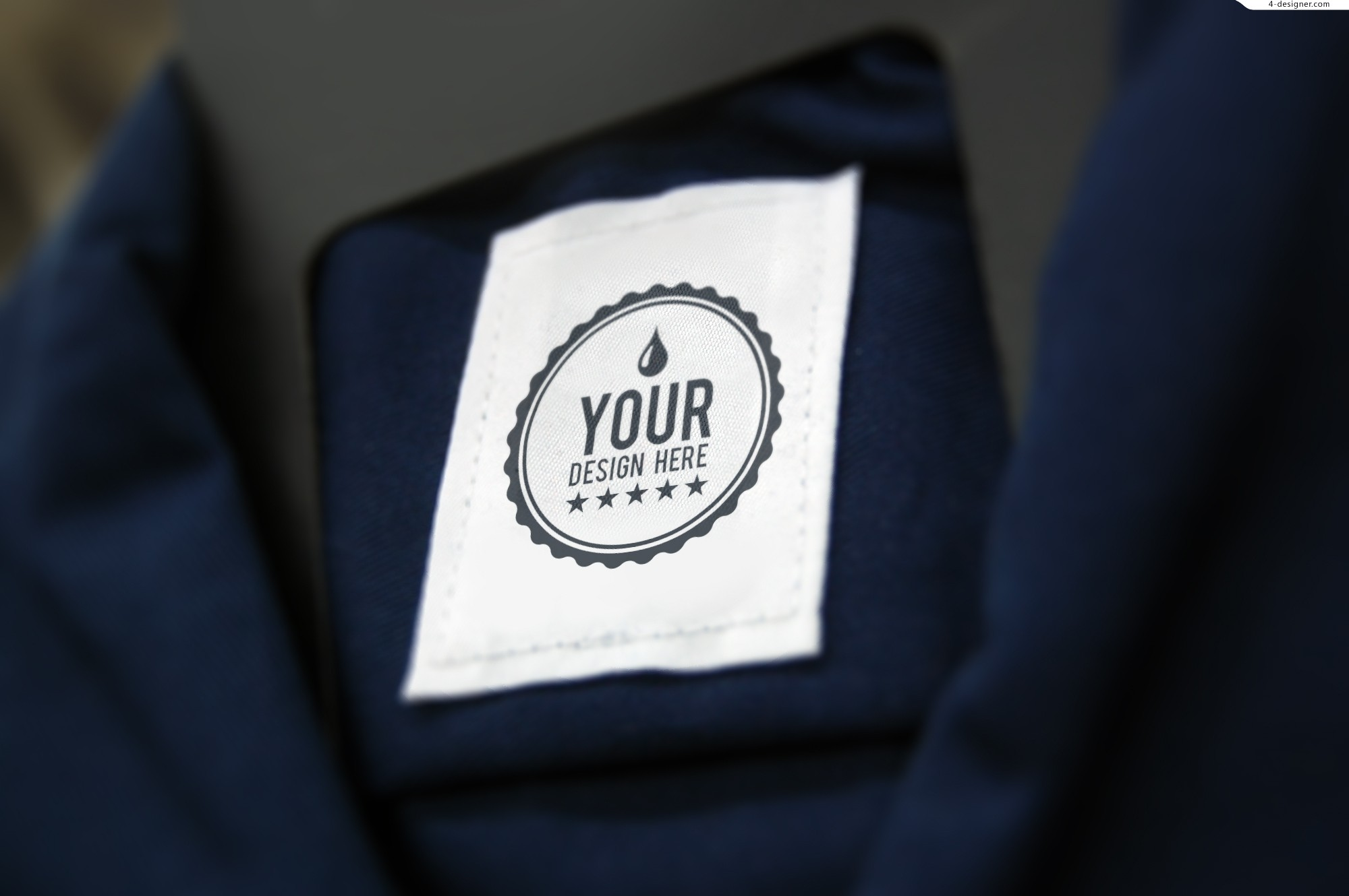 LOGO clothes label material effects show