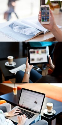 Mobile PC Tablet Demo Photo MockUps
