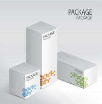 Packaging renderings