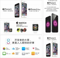 Apple products advertising