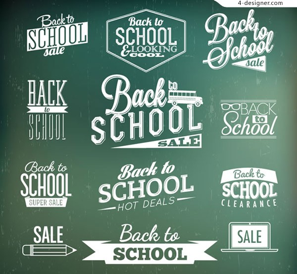 Back to school art tag
