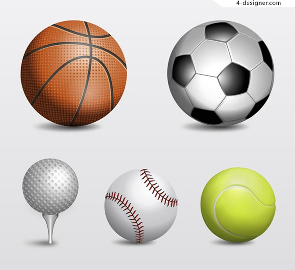 Ball design vector