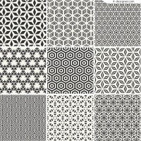 Black and white classical pattern background