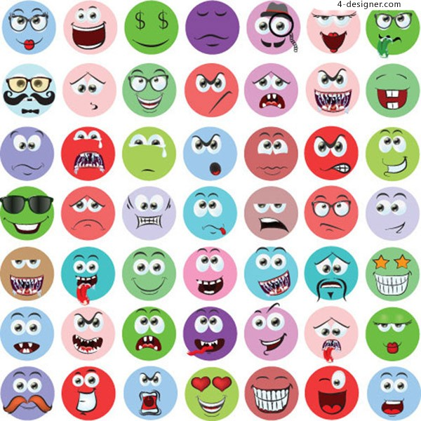 Cartoon character expression