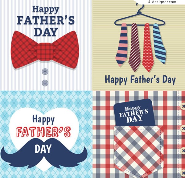 Cartoon father s Day card