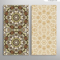 Classic pattern cards