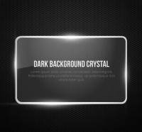 Crystal glass background