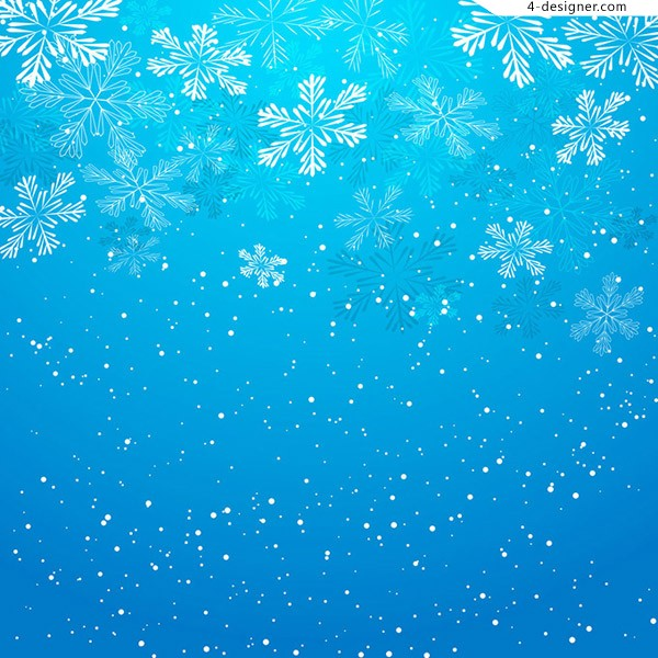 Dream snowflake background