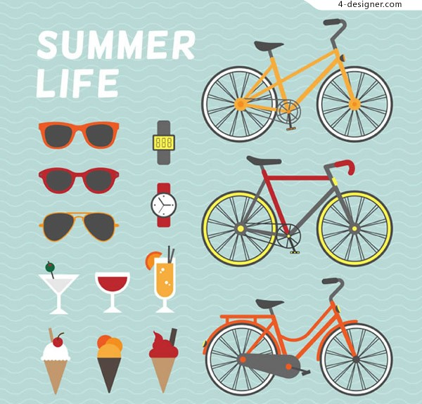 Elements of summer life