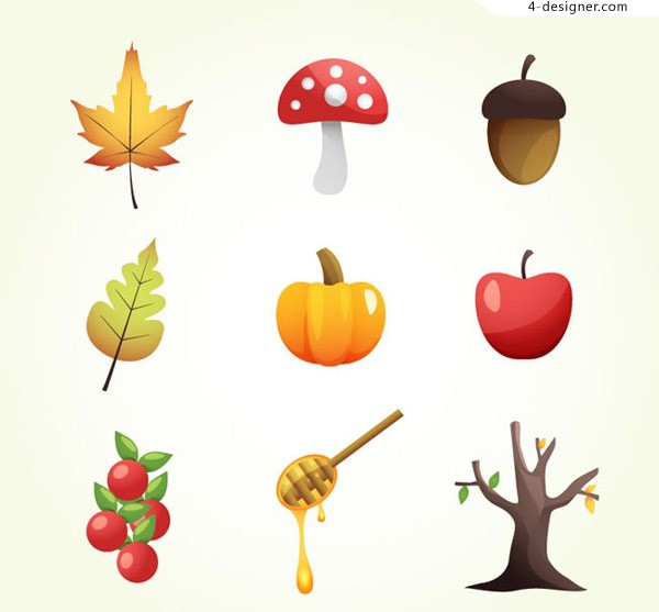 Fall element icon