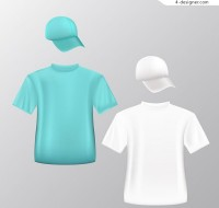 Fashion T shirt and hat