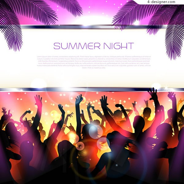 Fashion summer party Poster