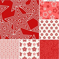 Five pointed star pattern background