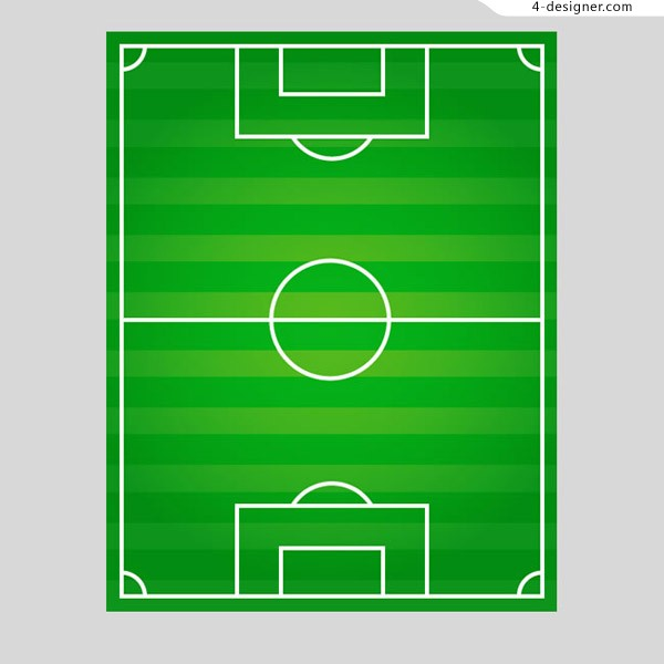 Football field top view