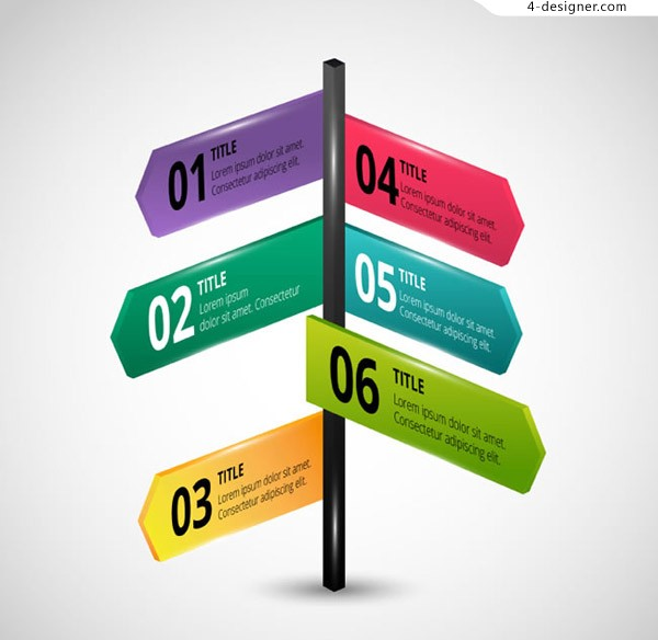Guidepost business information map