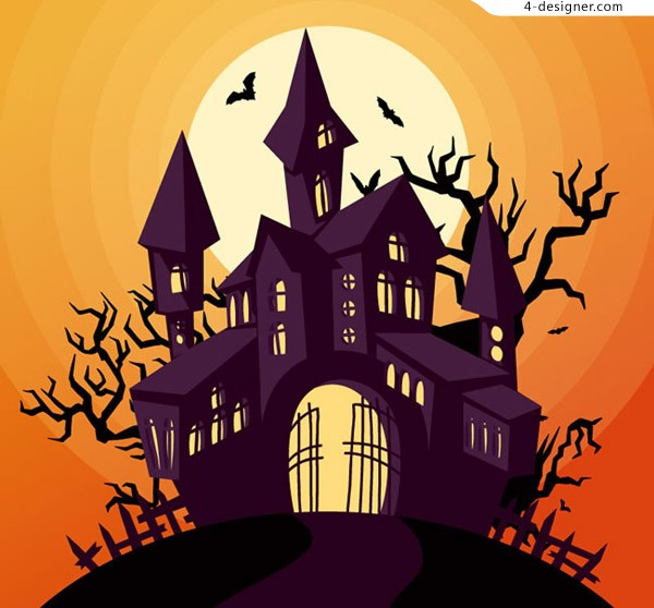 Halloween Castle design