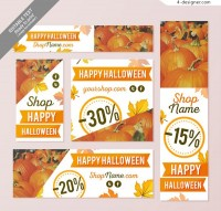 Halloween promotion cards
