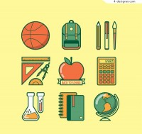 Learning supplies Icon