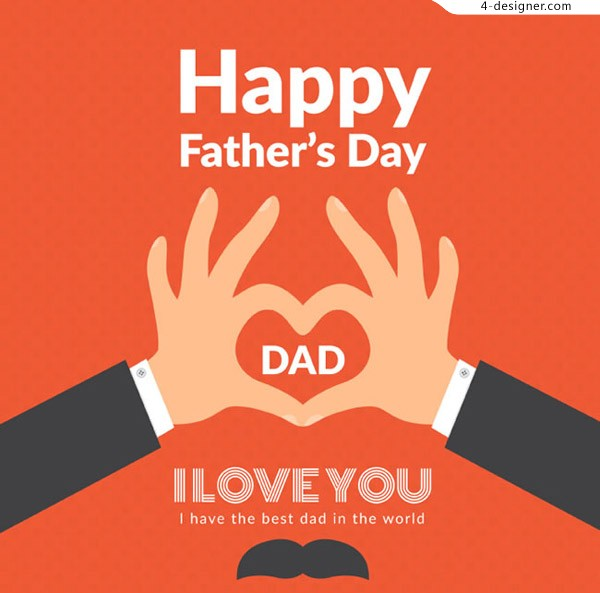 Love card for father s Day