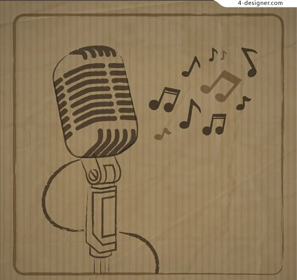 Microphone and note vector