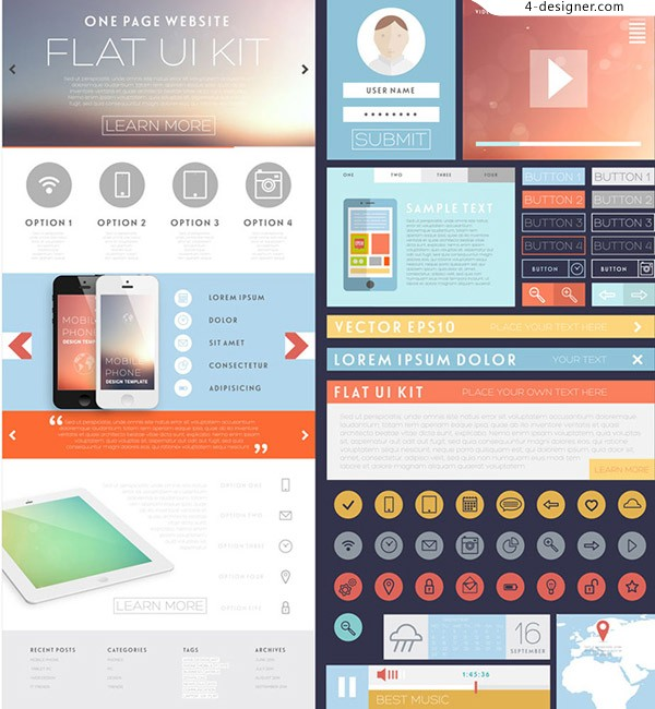 Mobile phone UI interface