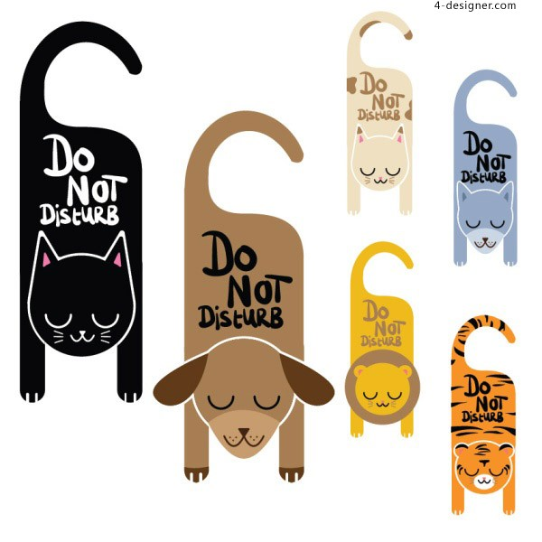 Please do not disturb the animal brand